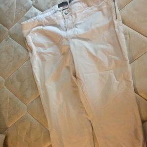 Never been worn skinny fit white pants